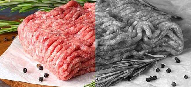 Если мясной фарш потемнел и стал коричневым, можно ли его использовать?