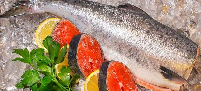 Как правильно заморозить и разморозить лосося