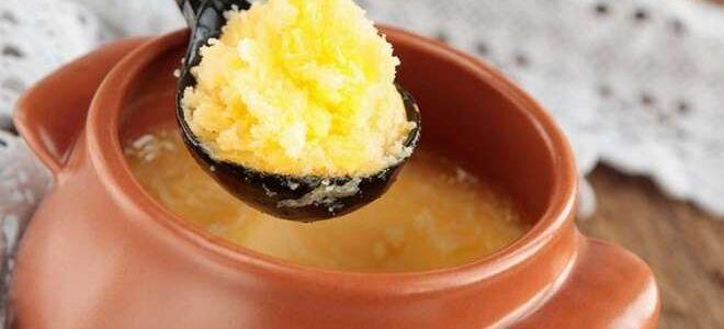 Топленое масло: как топить и как потом хранить в домашних условиях