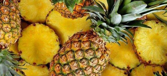 Правила хранения и выбора спелого ананаса