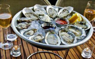 Правила выбора и хранения устриц, мидий и других моллюсков