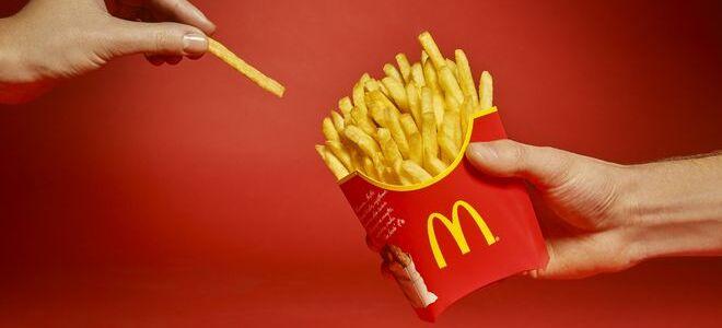 Почему картошка фри из McDonald