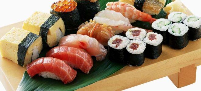 Правила хранения суши и роллов без последствий для здоровья
