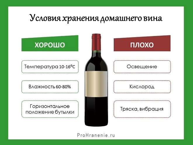 Сколько можно хранить белое вино
