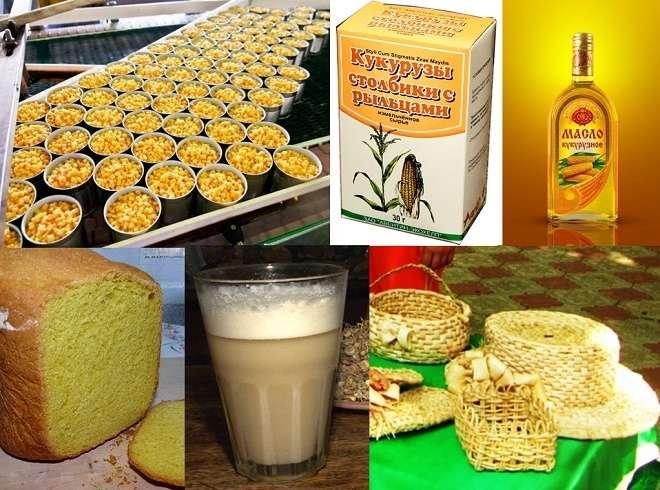 применение кукурузы