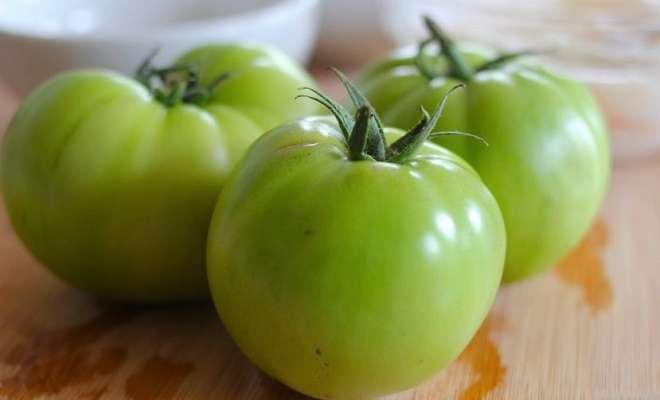 соланин в зеленых помидорах