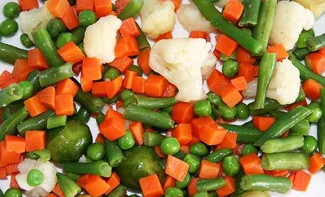 овощная смесь с морковью