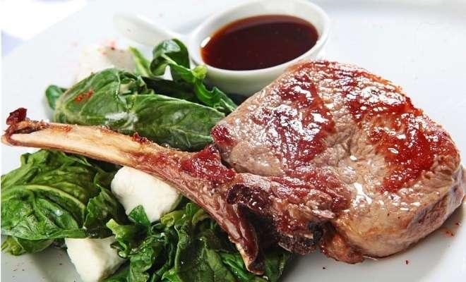 мясо на кости